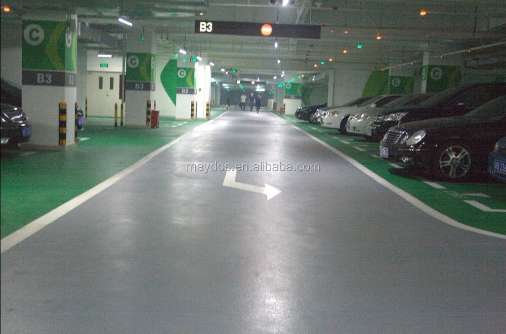 Hongkong Car Parking Lot Paint Epoxy Resin Flooring Paint