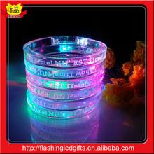 Import Party Supply Promotion Item Glows Slap Bracelet
