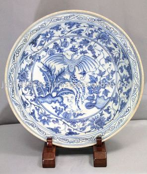 Blue And White China Pattern Of The Chinese Phoenix