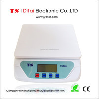 TS500 10kg/1g Promotional gift cheap portable kitchen weight scales