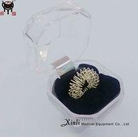 Acupuncture finger massage ring