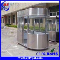 stainless steel guard booth/ portable security guard booth/Prefab Houses