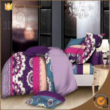 3d Luxury Reactive Printing Branded Print Quilt Cover Set Bedding Set Bed Sheet Set