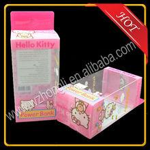 PVC/PET plastic gift box