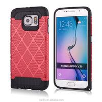 Newest custom design case for Samsung S6 TPU+PC shockproof case for Samsung galaxy S6