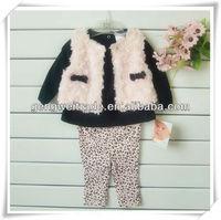 Fashion Wool Vest Design Baby Clothes Set