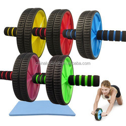 Gym exercise wheel/Fitness training Ab Wheel Exercise Equipment, Colorful