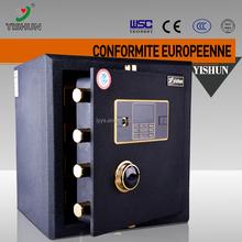 Fashion design biometric commercial use alarm lock electric floor cash anti pry bank safety deposit box london
