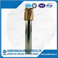 Special custom made carbide TiN coated cancave milling cutter