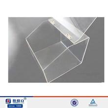 2015 hot sale high quality clear acrylic food box , acrylic hot box for food storage