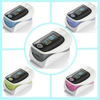 CE Certified LED Fingertip Pulse Oximeter SPO2 oxymeter FREE CASE Finger Pulse Oximeter