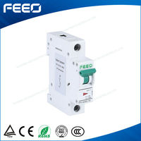 Solar power device CE quality mcb safty products FPV-63 1 phase 12VDC-250VDC 1A-63A DC mini circuit breakers
