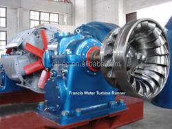 Francis water wheel