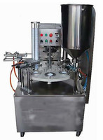 Automatic cup filling sealing machine,cup filler and sealer