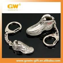 cheap promotional custom converse souvenir metal 3D keychain