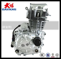 Single Cylinder 4 Stroke Air Cooled Lifan 150cc Motorcycle Engine Parts For Sale