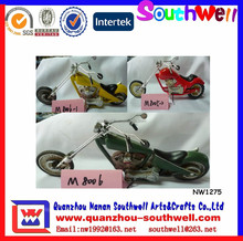 Wholesale Custom Resin Colorful Motorcycle Promotion Gift