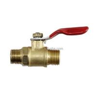 High quality brass female male ball cock valve