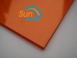 solar panel Roof material clear solid plastic sheets