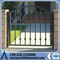 Wrought iron gate cast iron fence ornaments Manufacturer