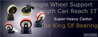 новый 1,5' двойной подшипник мебель универсальная заклинателя прочный пу прокатки поворотные ролики диван рицинус стул быстро шкив
