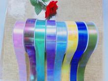 manufacture iridescent plastic ribbon