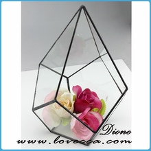 apple /pearl shape new design hanging glass terrarium glass cover transparent clear glass ball