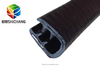 China made extruded composite epdm rubber u shape seal/window insulation strip