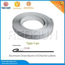 8.8cm wide aluminium coil for industry use with one folded edge
