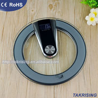 Live Voice or Language Glass Electronic Bathroom Scale