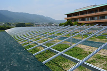 New Solar Energy / Ground Screw Mounting Bracket System for Commmercial