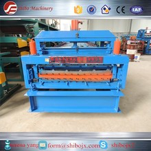 Glazed Color Coated Metal Roof Tile Making Machine with ce certificate for sale