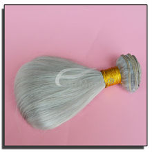 Brazilian hair weaving extensions, alibaba express wholesale shenzhen ,New arrival color silver hair weaving extensions