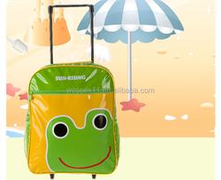 2 wheels cartoon children trolley luggage