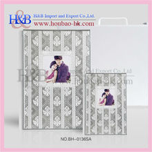 PVC Sheets Fancy Wedding Photo Album For Lover