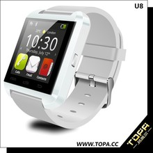 original factory, high quality android smart watch u8 for mobile phone, MTK 6260 smart watch u8 made in china