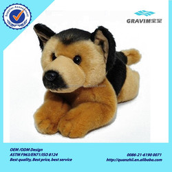 German Shepherd / Alsation Dog lying Plush Toy