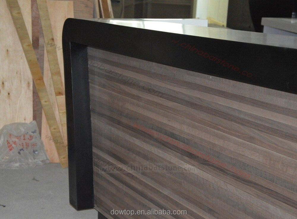 Customized Wooden Bar Counter MDF Bar Table Design For Europe Style