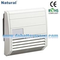 Low maintenance Fan Filter EF018 Series 21m3/h to 102m3/h 176x176mm exhaust fan filter,fan filter,fan and filter