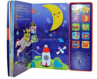 custom made children books with sound effects book printing