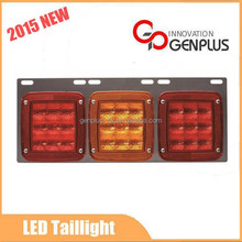 2015 NEW taillights LEDs Red & Amber & Red Beam tail lights for trucks
