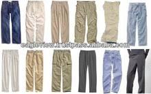nueva llegada de nombre de marca de pantalones de hombre de moda 2014