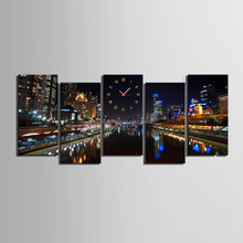 Vintage canvas printing wholesale,NEW YORK print pictures on canvas