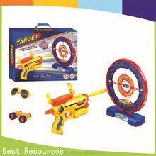 New! Sport game Soft bullet gun Spear with target toys plastic safe gun