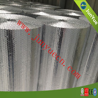 Roof aluminum bubble heat insulation building material