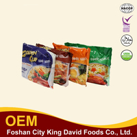 Top selling chinese instant noodles 5pcs/lot chinese food 4 flavors fast noodles