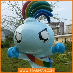 Fashionable Square Decoration Giant Doll
