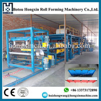 TOP Quality EPS&Mineral Wool Sandwich Board Panel Production Line/ Roll Forming Machine