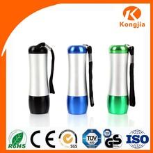 Portable UV Led Torch Light Keychain light Tapered Aluminum Tube