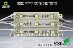 5050 3 LED Module Light DC 12V 0.72W High Power Waterproof Led Module Factory Price solar panels